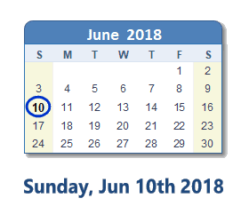 Save the Date … 10th of June 2018 for a Fun Village Day !