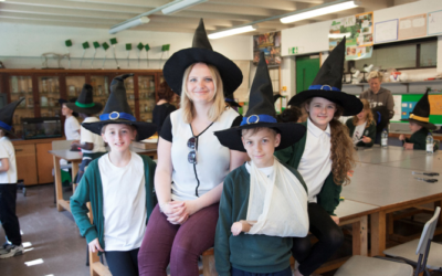 Junior Journalists and Wizardry!
