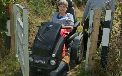 Sarratt welcomes Disabled Ramblers, the Chess Valley IS open to all ….