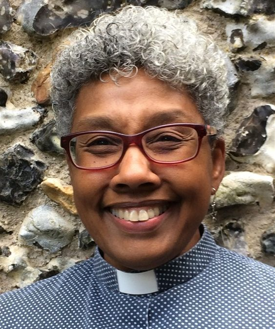 Congratulations Rev'd Michele Du Saire on becoming a Canon!
