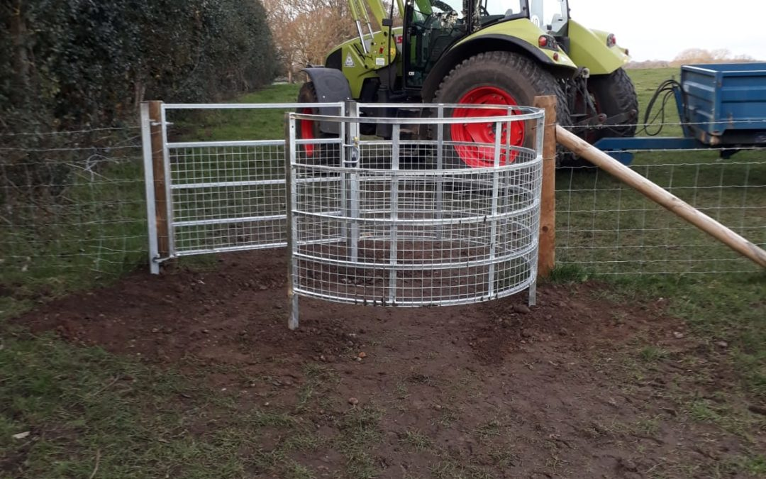 New kissing gates for the New Churchyard