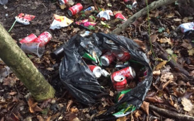 Rubbish of all sorts in our Parish countryside!! It's Not a pretty picture!