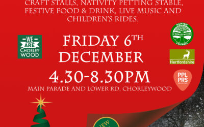 Chorleywood Christmas Festival THIS Friday the 6th of December …